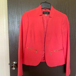 Coral Suit Jacket